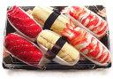 お寿司のソックス 可愛い靴下です。 寿司ソックスの詰め合わせ まぐろ 卵 エビ
