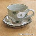 コーヒーカップ&ソーサー 白椿コーヒーカップ 陶器 和風 業務用 美濃焼