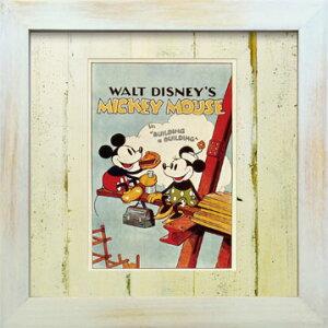 VintageDisneySeriesヴィンテージディズニーMICKEYMOUSE&MINNIEMOUSEミッキーマウス&ミニーマウスD002アートフレーム