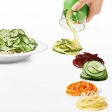 【新商品】3種の刃でバリエーション豊かに!【あす楽】【送料無料】OXO オクソー トリプルベジヌードルカッター 野菜麺 野菜パスタ 野菜ヌードル が簡単に作れる ヘルシーでダイエット 野菜で健康