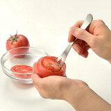 【メール便送料無料】オークス レイエ 野菜をうつわに ベジココスプーン LS1529 野菜が器に大変身!おしゃれで可愛いヘルシー料理が簡単に作れます!トマトの中身をくり抜く野菜スプーン!【SIM】