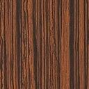 メラミン化粧板 木目(ミディアムトーン) JI-416K 3x6 ゼブラ 柾目