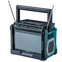 あす楽対応 マキタ TV100 充電式ラジオ付現場テレビ10.8V/14.4V/18Vバッテリ・AC100V対応(本体のみ、ACアダプタ・リモコン付)