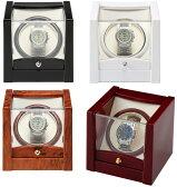 ワインディングマシン時計巻上  全4色 ウォッチワインダー KA079 自動巻きの腕時計に ビッグフェイス対応 送料無料 メーカーによる1年保証付き