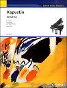 楽譜 GYP00129417カプースチンソナチネOP.100/生誕80年記念特別版 / ショット社/ドイツ