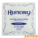HISTORY HEGSN009 エレキギター弦 10本セット 【バラ弦】 【ヒストリー】