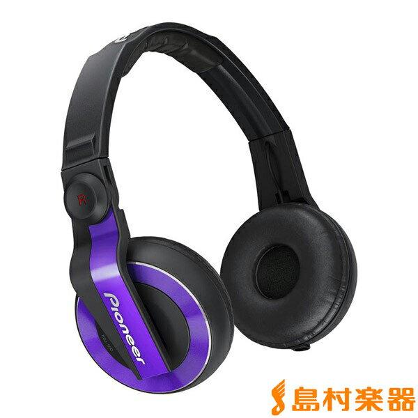 Pioneer HDJ-500-V Violet DJ用 ヘッドホン 【パイオニア HDJ500V】