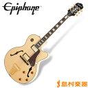 【送料無料】Epiphone Joe Pass Emperor II Natural ジョーパス エンペラー エレキギター 【エピフォン】
