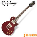 【送料無料】Epiphone Les Paul Tribute Plus Outfit Black Cherry レスポールトリビュート エレキギター 【エピフォン】