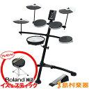 【送料無料】ROLAND TD-1KV 電子ドラムセット Vドラム V-Drums Kit 【ローランド TD1KV】