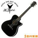 K.Yairi WY-2 BK エレアコギター エレクトリックシリーズ 【Kヤイリ WY-2】【無金利キャンペーン実施中!8/31まで】
