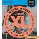 D'Addario EXL110W エレキギター弦 XL Nickel Round Wound レギュラーライトゲージ/Wound 3rd 010-046 【ダダリオ】