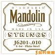 D'Addario J6201 マンドリン弦 Mandolin Family 80/20 Bronze 010 【バラ弦1本】 【ダダリオ】