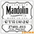 D'Addario J7401 マンドリン弦 Mandolin Family Medium / Phospor Bronze 011 【バラ弦1本】 【ダダリオ】