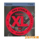 D'Addario EPS230 ベース弦 XL ProSteels Round Wound ヘビーゲージ 055-110 【ダダリオ】
