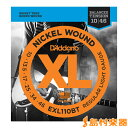 D'Addario EXL110BT エレキギター弦 XL Nickel Round Wound バランスドテンション レギュラーライトゲージ 010-046 【ダダリオ】