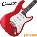 CoolZ ZST-M10R CAR エレキギター STタイプ 【ミディアムスケール】 【クールZ ZSTM10R】