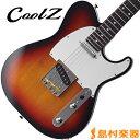CoolZ ZTE-M10R 3TS エレキギター TLタイプ 【ミディアムスケール】 【クールZ ZTEM10R】