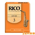 Rico AS3 リード アルトサックス用 【硬さ:3】 【10枚入り】 【リコ】