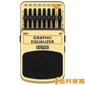 BEHRINGER GRAPHIC EQUALIZER EQ700 グラフィックイコライザー エフェクター 【ベリンガー】