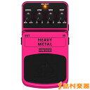 BEHRINGER HEAVY METAL HM300 ディストーション エフェクター 【ベリンガー】 【ACアダプタープレゼント!】