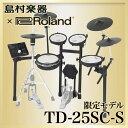 【送料無料】ROLAND TD-25SC-S 電子ドラムセット 【島村楽器 x Roland コラボモデル】 V-Drums 【ローランド TD25SCS】