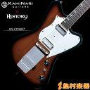 KAMINARI GUITARS × HISTORY KH-CYGNET VBS(ボルケーノバースト) エレキギター