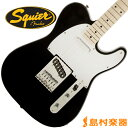 Squier by Fender Affinity Series Telecaster Maple Fingerboard BLK(ブラック) テレキャスター 【スクワイヤー by フェンダー】
