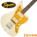 Squier by Fender J Mascis Jazzmaster Rosewood Fingerboard VWT(ビンテージホワイト) ジャズマスター 【スクワイヤー by フェンダー】