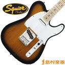 Squier by Fender Affinity Series Telecaster Maple Fingerboard 2CS(2カラーサンバースト) テレキャスター 【スクワイヤー by フェンダー】