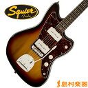 Squier by Fender Vintage Modified Jazzmaster Rosewood Fingerboard 3CS(3カラーサンバースト) ジャズマスター 【スクワイヤー by フェンダー】