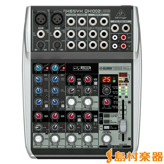 BEHRINGER QX1002USB ミキサー 【ベリンガー】