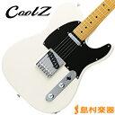 CoolZ ZTL-V/M VWH(ビンテージホワイト) エレキギター 【クールZ】【Vシリーズ】