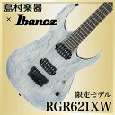 Ibanez RGR621XW DNF(ダークナイトフロスト) エレキギター 【ダウンチューニング専用】 【アイバニーズ】【島村楽器限定】 【数量限定】