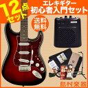 【送料当店負担】Squier by Fender Standard Stratocaster Rosewood ATB(アンティークバースト) ミニアンプセット エレキギター 初心者 セット ストラトキャスターSquier by Fender Standard Stratocaster Rosewood Fingerboard ATB(アンティークバースト) ミニアンプセット エレキギター 初心者 セット ストラトキャスター 【スクワイヤー by フェンダー】【オンラインストア限定】