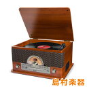 ION AUDIO Superior LP レトロ調 レコードプレーヤー Bluetooth対応 【 カセットテープ / CD / ラジオ / USB 】対応 ...