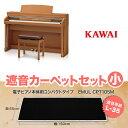 KAWAI CA67C ブラックカーペット(小)セット 電子ピアノ 88鍵盤 【カワイ】【配送設置無料・代引き払い不可】