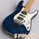 SCHECTER EX-24-CTM-FRT/M (3A Grade) BKAQ エレキギター 【シェクター】 【りんくうプレミアムアウトレット店】 【アウトレット】