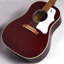 Gibson Custom Shop Early 60s J-45 Wine Red アコースティックギター (エレアコ) 【ギブソン カスタムショップ】 【福岡イムズ店】 【B級特価】 【現物画像】