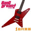 【送料無料】BanG Dream! RANDOMSTAR Kasumi ESP×バンドリ! ランダムスター 戸山香澄モデル エレキギター 【バンドリ】