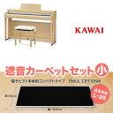 KAWAI CN27LO ブラックカーペット(小)セット 電子ピアノ 88鍵盤 【カワイ】【配送設置無料・代引き払い不可】