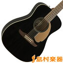 Fender Malibu Player Jetty Black アコースティックギター エレアコ 【フェンダー】