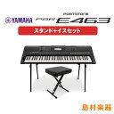 キーボード 電子ピアノ YAMAHA PSR-E463 スタンド イスセット PORTATONE ポータトーン 【ヤマハ PSRE463】 楽器