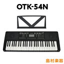 キーボード 電子ピアノ onetone OTK-54N ブラック 54鍵盤  ワントーン 子供 子供用 キッズ プレゼント  楽器
