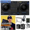 【解説動画付き】 Pioneer DJ DDJ-FLX6 自宅DJコンプリートセット(ケース付き) serato rekordbox どちらも対応! DJデスク ヘッドホ..