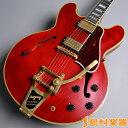 【エントリーでポイント5倍 10/27 10:00-10/30 9:59】 Gibson Memphis ES-355 Bigsby 2016 VOS 60s Cherry S/N:11116761 セミアコギター 【ギブソン メンフィス】【未展示品】【ES355】