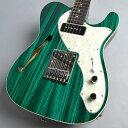 Freedom Custom Guitar Research Green Pepper テレキャスターシンラインタイプ ギター 【フリーダム】 【新宿PePe店】