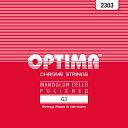 OPTIMA G3 No.2303 RED マンドセロ用弦/G 3弦×2本入り 【オプティマ】