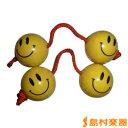WANNA GROOVE ニコちゃんパチカ 黄/黄 紐・赤 パチカ 【ワナグルーブ】【2個セット】