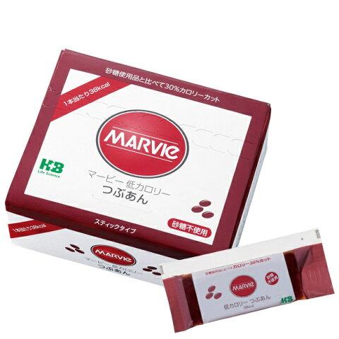 マービー 低カロリージャム つぶあん スティック(20g×23本)砂糖不使用♪